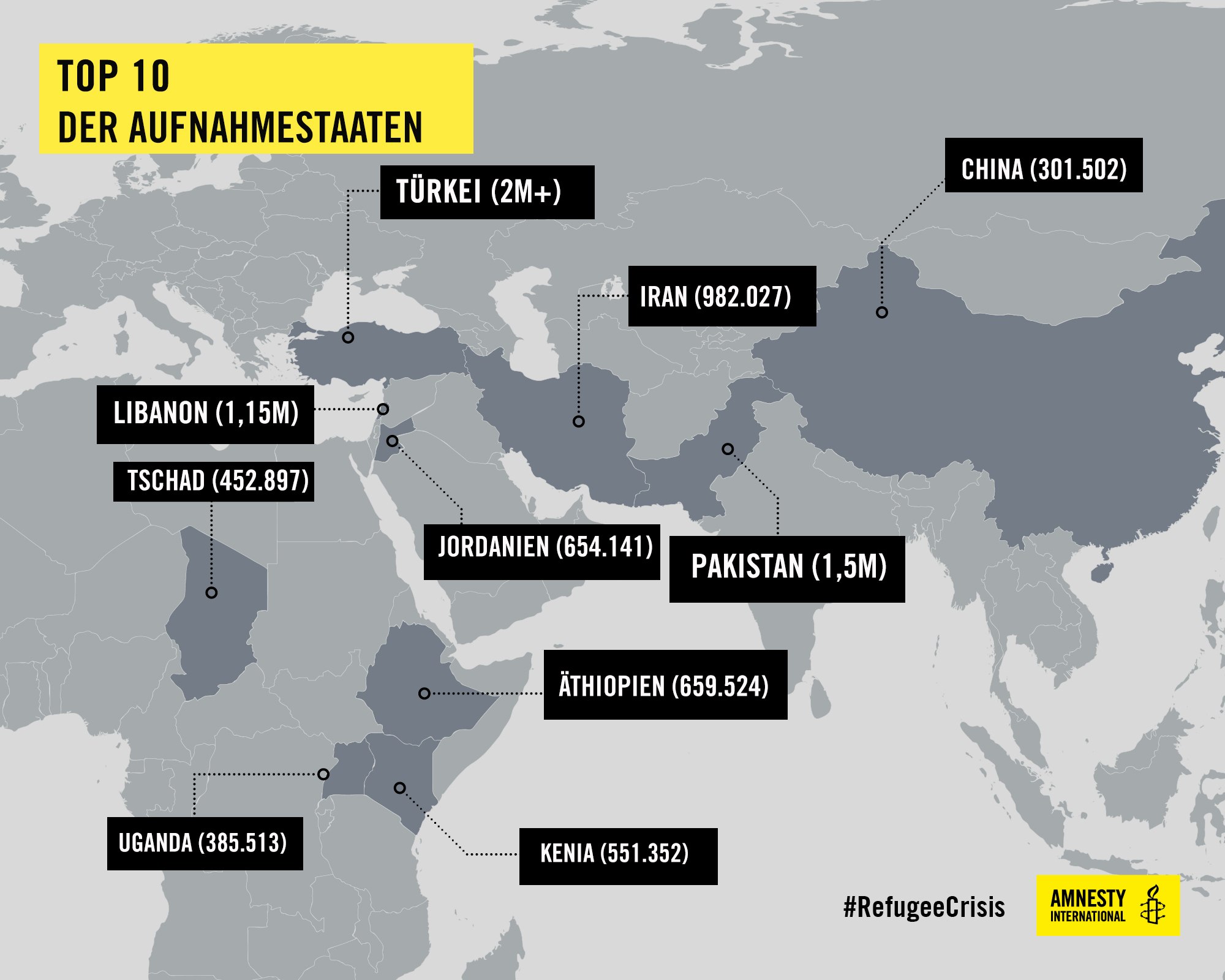 top10 refugeehostingcountries c AI | © Amnesty International