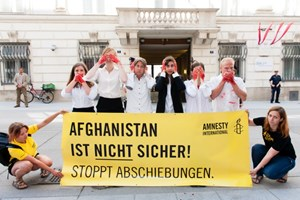 Thumbnail Afghanistan ist nicht sicher | © Amnesty International/Christoph Liebentritt