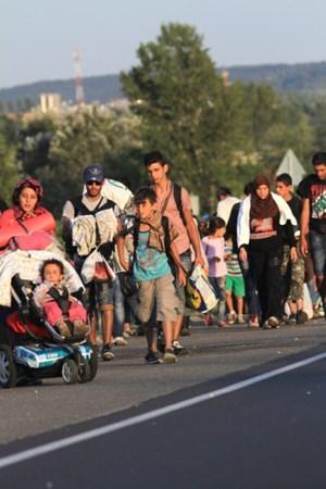 Thumbnail Bildergalerie March of Hope 7 | © Amnesty International/Sebastian Brötzner