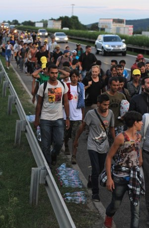 Thumbnail Bildergalerie March of Hope 6 | © Amnesty International/Sebastian Brötzner