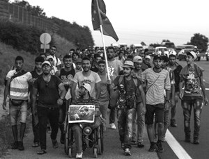 Thumbnail Bildergalerie March of Hope 5 | © Amnesty International/Sebastian Brötzner