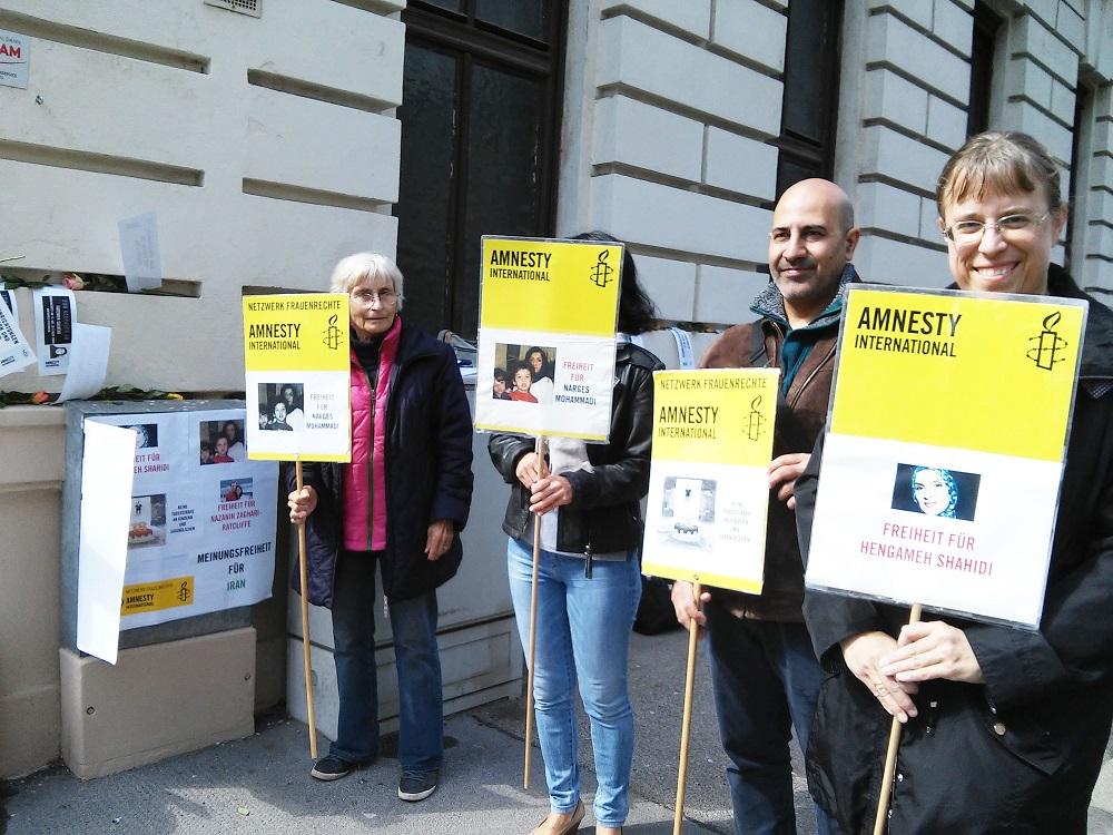 IranAktion17 2 | © AI Netzwerk Frauenrechte