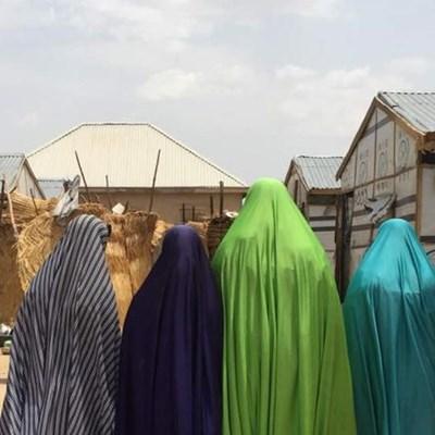 Nigeria: Vertriebene Frauen und Kinder ohne Nahrung