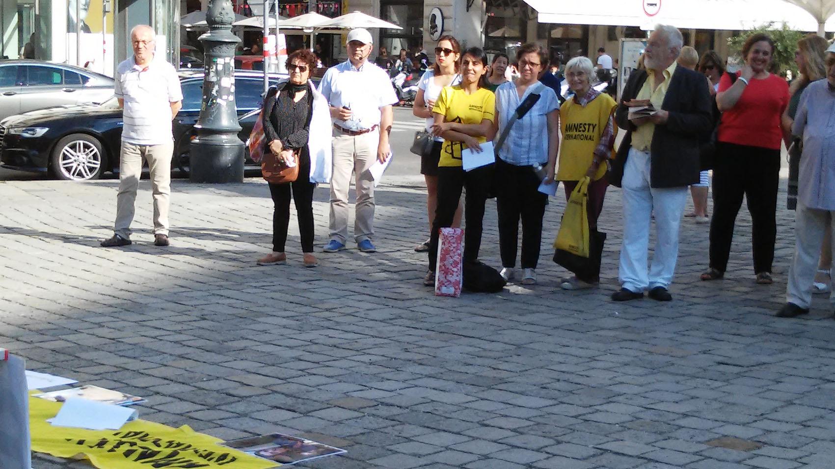 KundgebungAndischeh4 | © Amnesty-NW Frauenrechte