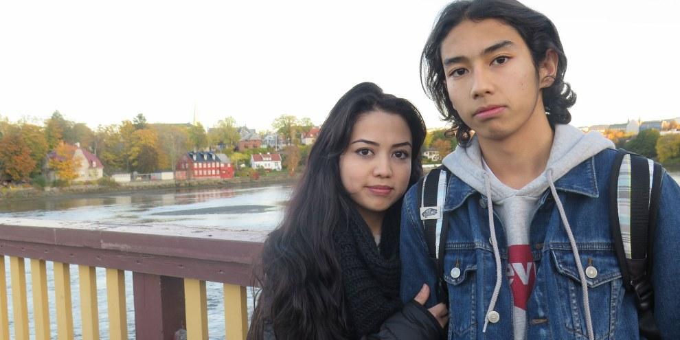 Taibeh und Bruder AI