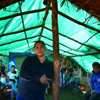 Paraguay: Amada Martínez bedroht!