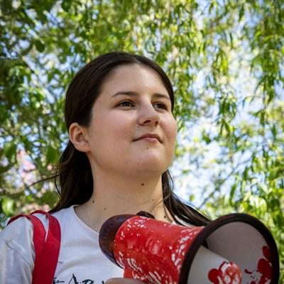 Ukraine: Schutz für Vitalina!