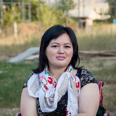 Kirgistan: Gulzar Duishenova