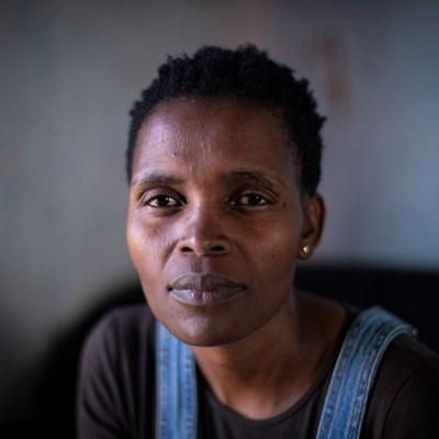 Südafrika: Nonhle Mbuthuma