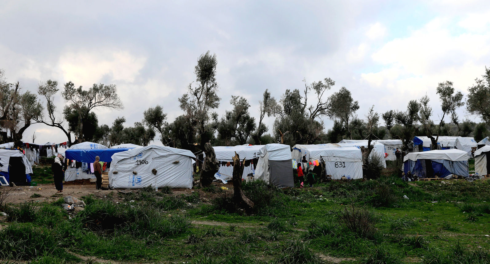 Flüchtlingslager Moria in Griecheland | © Giorgos Moutafis/Amnesty International
