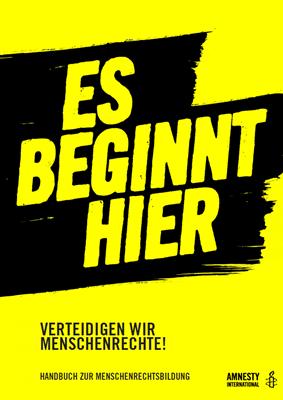 Cover Es beginnt hier | © Amnesty International