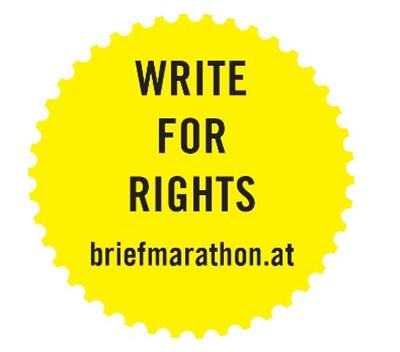 Briefmarathon 2018 Buttons | © Amnesty International