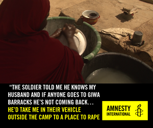 Thumbnail They Betrayed Us Rape | © Amnesty International
