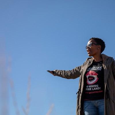 Südafrika: Nohnle Mbuthuma bedroht!