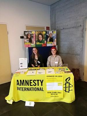 Thumbnail Amnesty Youth Kärnten Briefmarathon Aktion   © Ines Müller