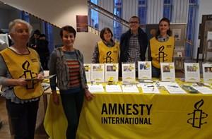 Thumbnail Briefmarathon Hauptbuecherei 2018 | © Amnesty International