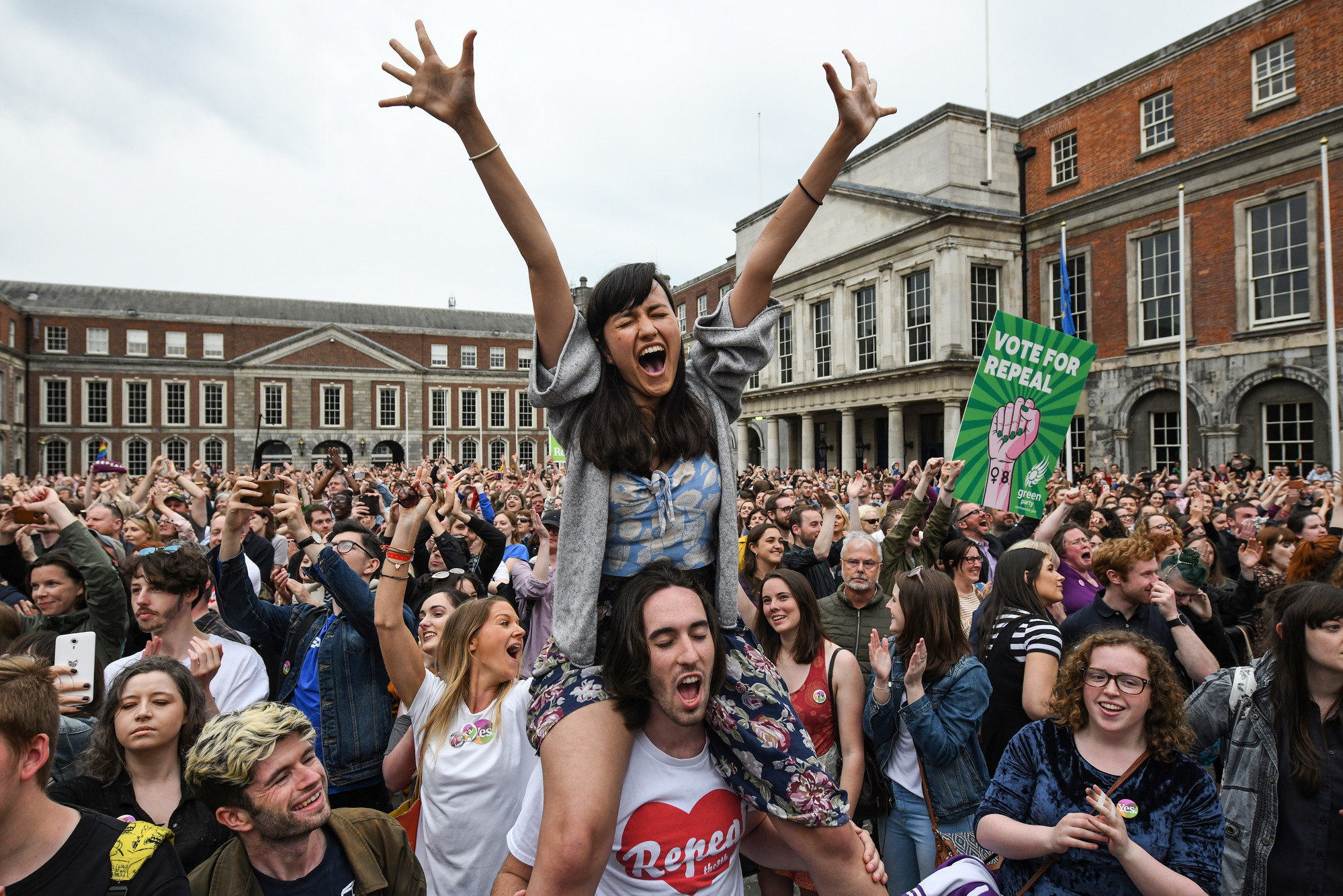 Ireland Abortion Vote Win | © Jeff J Mitchell/Getty Images