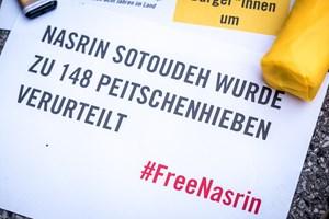 Thumbnail FreeNasrin 2 | © Amnesty International/Christopher Glanzl
