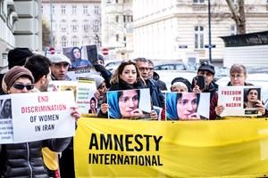 Thumbnail Iran Botschaft 20   © Amnesty International/Christopher Glanzl