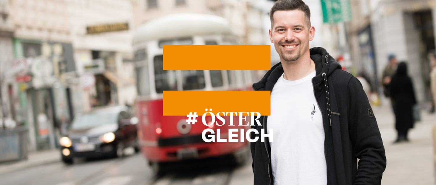 WebsiteHeader1500x700 Markus-Orange | © Fotos: Christoph Liebentritt, Logo: We Make / Amnesty International Österreich