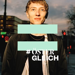 Thumbnail #ÖsterGLEICH x5 | © Foto: Jork Weismann, Logo: We Make / Amnesty International Österreich