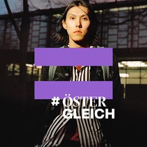 Thumbnail #ÖsterGLEICH x2 | © Foto: Jork Weismann, Logo: We Make / Amnesty International Österreich