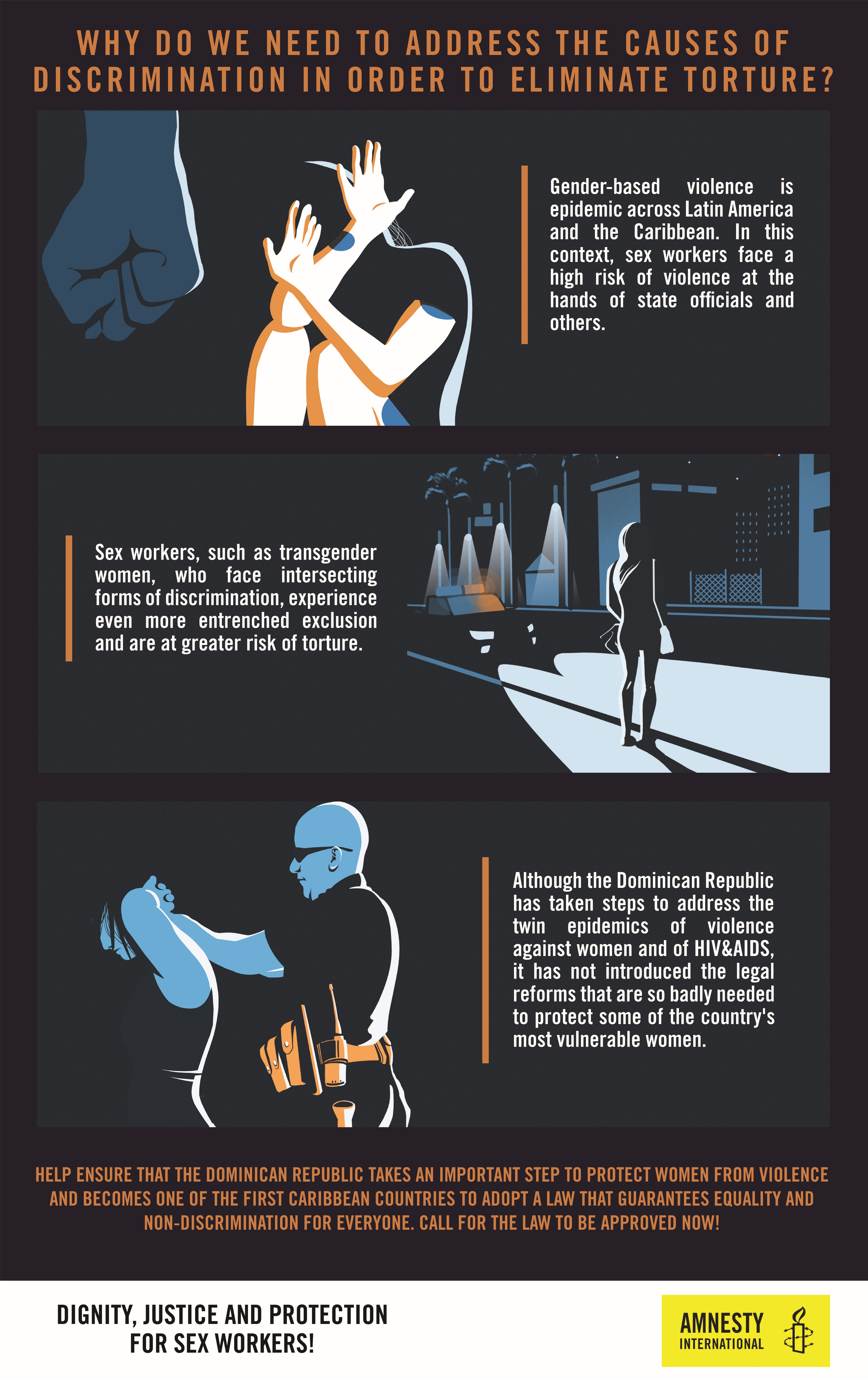 Infographic Sex Workers | © Amnesty International