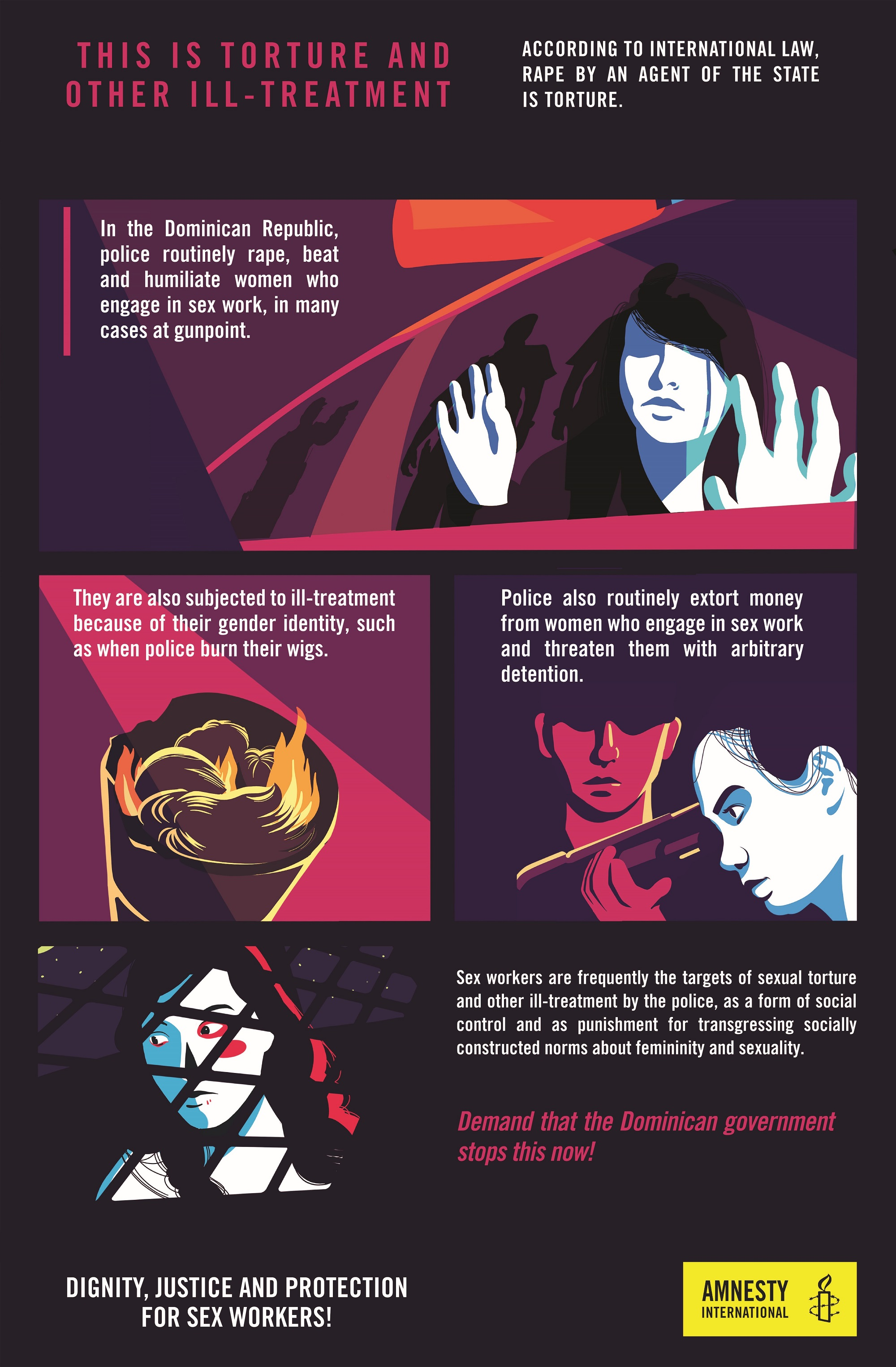 Infographic Sex Workers 2 | © Amnesty International