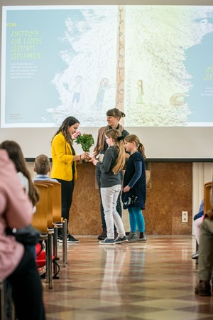 Thumbnail Preisverleihung Gewinnerinnen | © Amnesty International/Matthias Dorninger