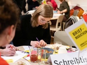 Thumbnail Die Briefmarathon Human Rights Challenge 2019 | © Christoph Liebentritt/Amnesty International